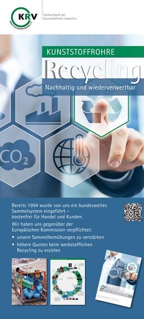 Kunststoffrohre – Nachhaltig und wiederverwertbar