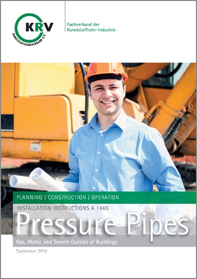 Pressure Pipes - Gas, Water and Sewers outsite of Buildings