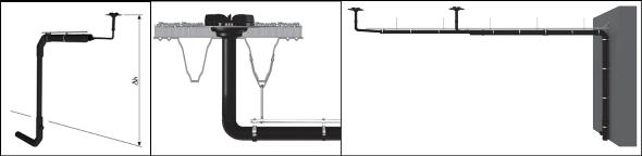 Dachentwässerung mit Druckströmung (Regenwasser)