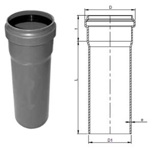 Rohrdimensionierungen  Rohr-Außendurchmesser