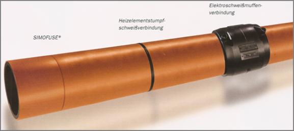Verbindungstechniken für Kunststoffrohrleitungen aus Polyethylen zur Dachentwässerung mit Druckströmung