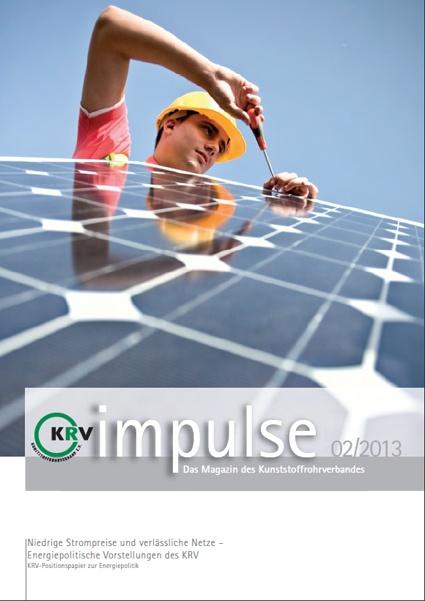 Niedrige Strompreise und verlässliche Netze – Energiepolitische Vorstellungen des KRV
