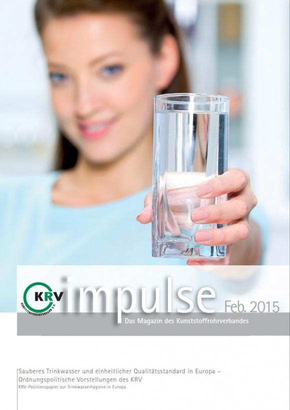Sauberes Trinkwasser und einheitlicher Qualitätsstandard in Europa – Ordnungspolitische Vorstellungen des KRV
