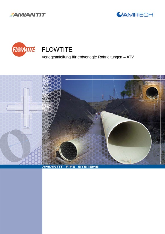 Verlegeanleitung für erdverlegte Rohrleitungen und Schächte aus GFK